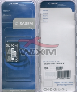 Batterie Sagem d'origine MY-411X