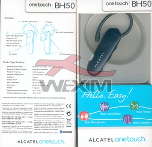 Oreillette BlueTooth d'origine Alcatel BH50