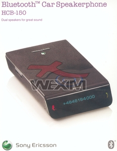 Kit auto BlueTooth d'origine SonyEricsson HCB-150