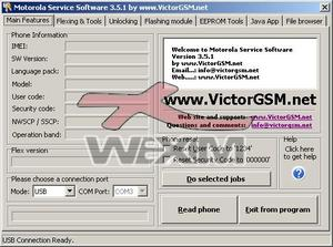Original P2K Service Software by VictorGSM
