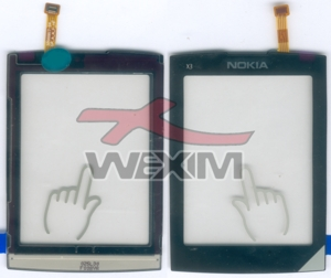 Vitre tactile Nokia X3-02 Touch and Type